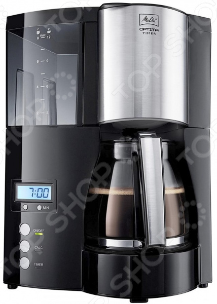 Кофеварка Optima Glass Timer