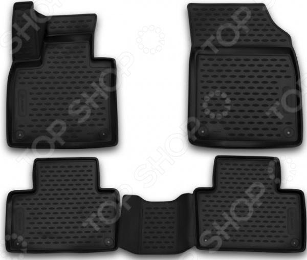 Комплект 3D ковриков в салон автомобиля Element Volvo XC90, 2015 коврики для автомобиля dedicated car 2015 volvo xc60 s60l v40 s80l xc90