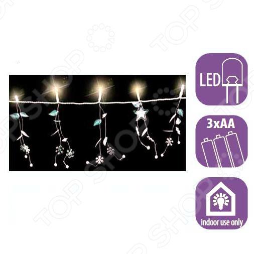 Гирлянда электрическая Luca Lighting «Листочки» 1694692