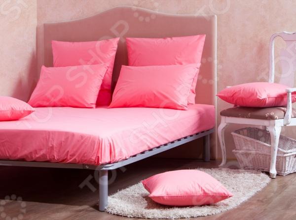 Комплект: простыня и наволочки MIRAROSSI Coral mirarossi veronica pink
