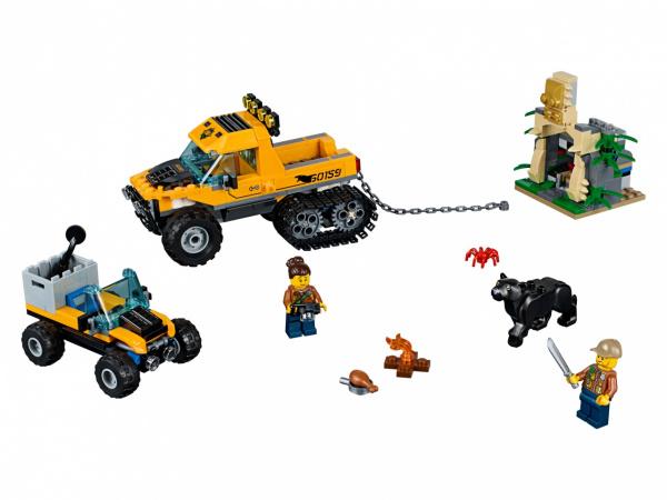 Конструктор игровой LEGO City «Миссия: Исследование джунглей» lego city миссия исследование джунглей 60159