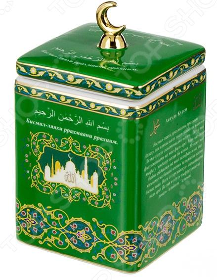 Банка для чая Lefard «Аятуль-Курси» 86-1779 чайник заварочный lefard сура аятуль курси 86 1777