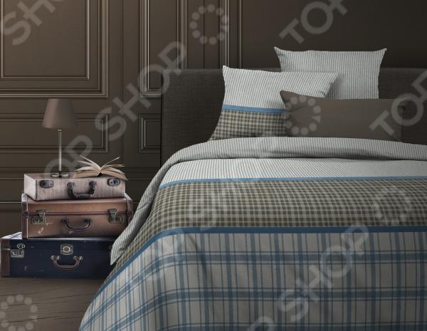 Комплект постельного белья Wenge Toris. Цвет: серо-голубой, оливковый toris эсперо 180x200