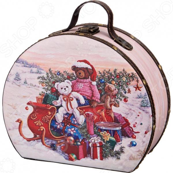 Шкатулка Lefard «Счастливого Рождества» 41-416 шкатулка первый зубик 67672