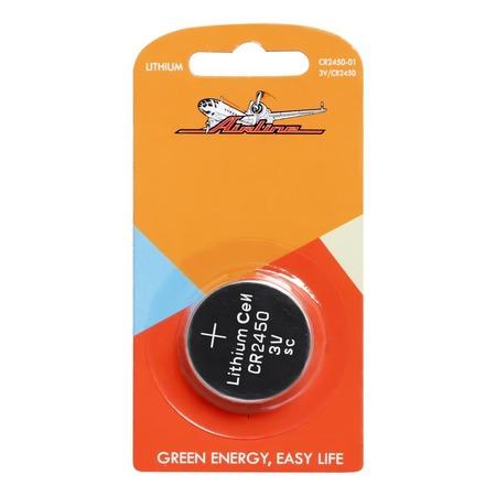 Батарейка для брелоков и сигнализаций литиевая Airline CR2450