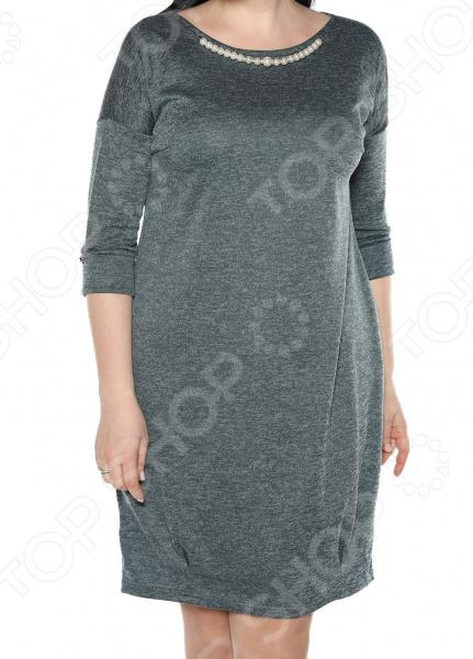 Платье Jenks «Жемчужная романтика». Цвет: аквамарин блуза jenks счастливое настроение цвет фиолетовый