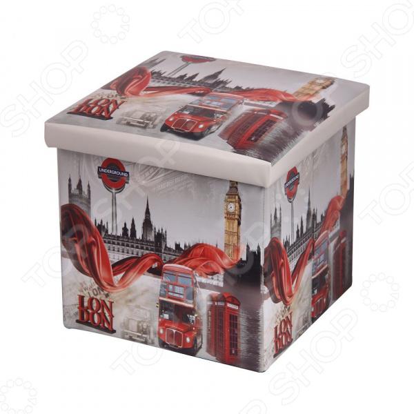 Пуф-короб для хранения Miolla London Miolla - артикул: 1699836