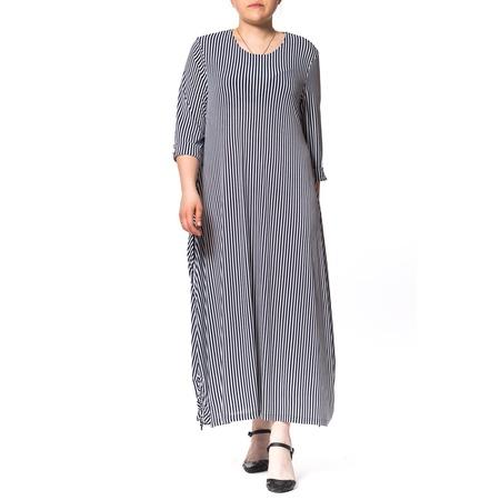 Купить Платье Kidonly «Свободный вечер». Цвет: синий