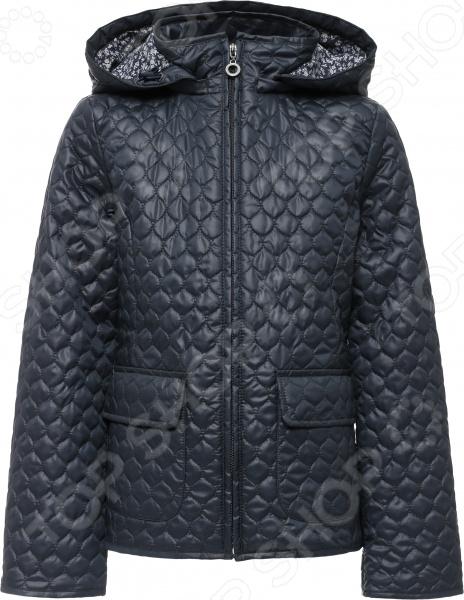 Куртка для девочки Finn Flare Kids KB16-71003. Цвет: темно-синий