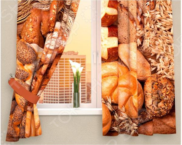 Фотошторы Сирень «Ароматный хлеб»