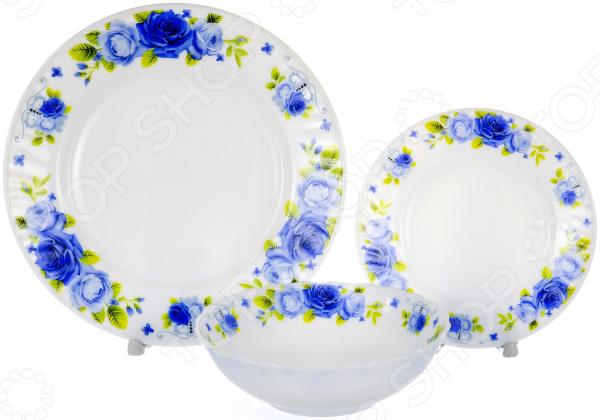 Набор столовой посуды OlAff «Пасадена». Количество предметов: 13 набор столовой посуды olaff эстелла