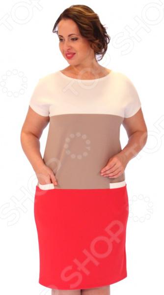 Платье Milana Style «Лот 1017». Цвет: коралловый цена 2017