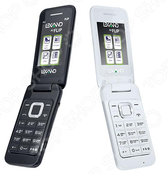 Мобильный телефон Lexand A2 Flip lexand a2 flip white