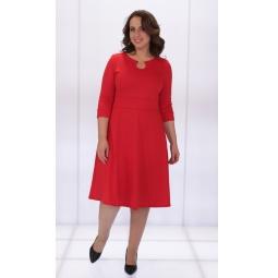 Платье Матекс «Анатолия». Цвет: красный