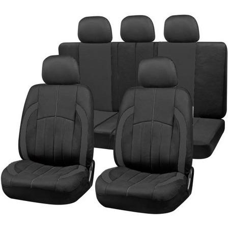 Купить Комплект чехлов на сиденья автомобиля SKYWAY Forsage