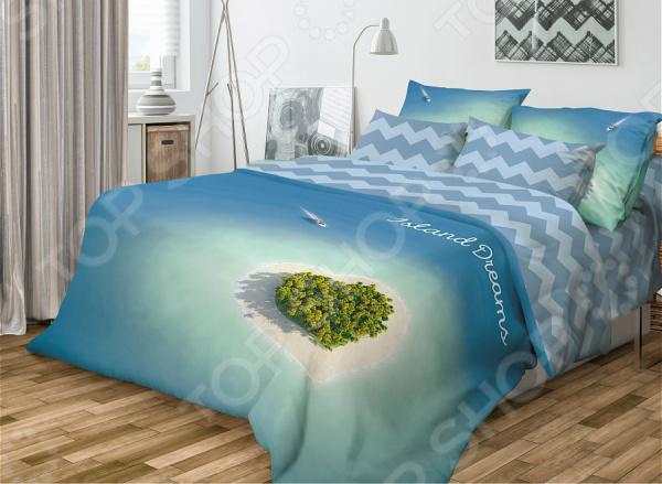Комплект постельного белья Волшебная ночь Island Dreams постельное белье волшебная ночь комплект постельного белья волшебная ночь семейный yin yang