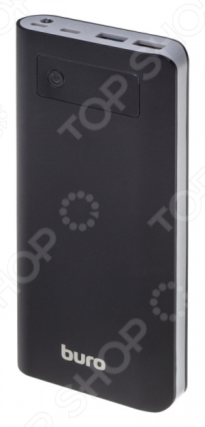 Аккумулятор внешний BURO RB-20000-LCD-QC3.0-I&O