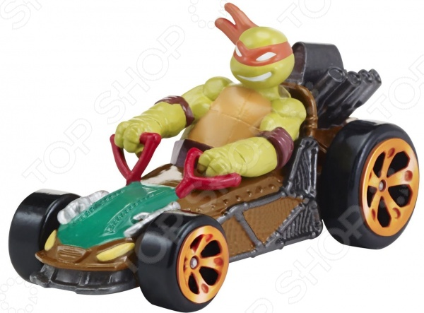 Машинка игрушечная с фигуркой Nickelodeon «Майки на патрульном багги»