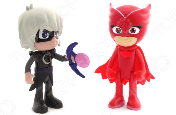 Набор фигурок игрушечных PJ Masks «Алетт и Лунная девочка» всё для лепки герои в масках pj masks набор алетт и ромео