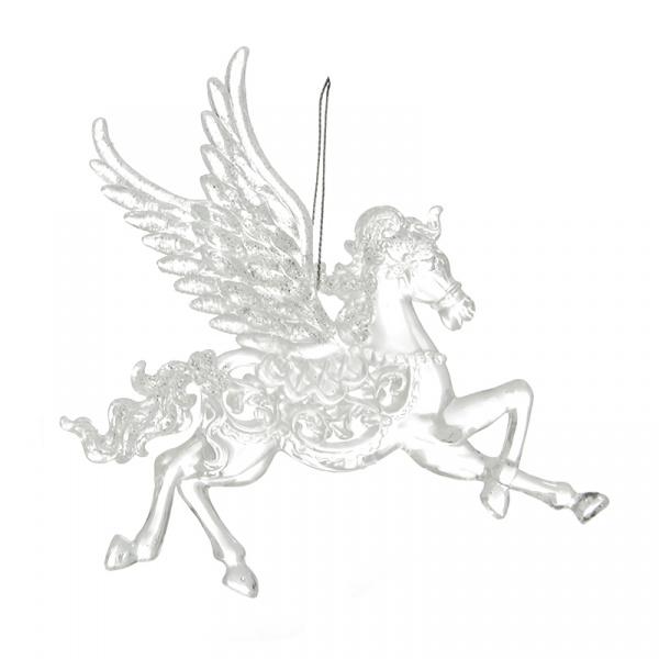 Елочное украшение Crystal Deco «Лошадка». В ассортименте