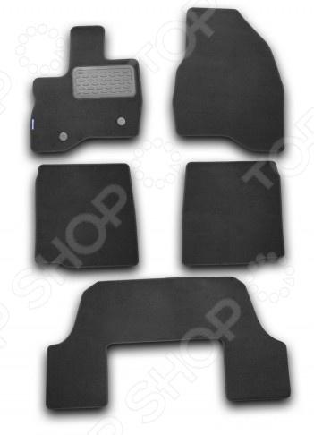Комплект ковриков в салон автомобиля Novline-Autofamily Ford Explorer 2011-2015 комплект 3d ковриков в салон автомобиля novline autofamily volkswagen touareg 2010 2015 2015