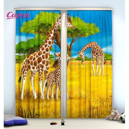 Купить Фотошторы Сирень «Жирафы»
