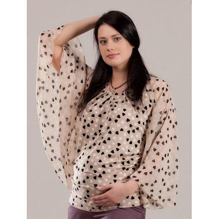 Купить Блузка для беременных Nuova Vita 1345.1. Цвет: мокко