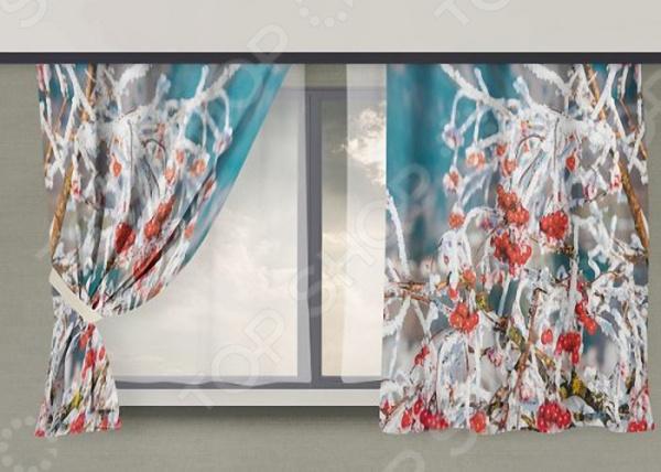 Фотошторы «Зима 2» текстиль для дома