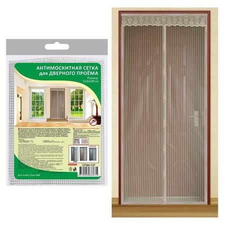 Купить Сетка антимоскитная на дверь Мультидом CF84-137