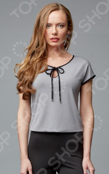 Блуза Milliner 1726108. Цвет: серый