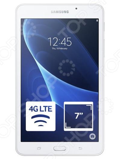 Планшет Samsung Galaxy Tab A 7.0 SM-T285 8Gb это современный, многофункциональный планшетный компьютер на базе Android, с которого можно снимать видео и работать с приложениями разных типов секвенсоры, редакторы, видео и другие медиа-файлы. Большое разрешение 1280x800 хватает для того, чтобы удобно проводить время за играми. Прекрасно подходит для серфинга в интернете и решения различных повседневных задач.  Особенности  Четырехъядерный процессор позволяет вам просматривать ваши любимые блоги, транслировать видео и мгновенно делиться всем с друзьями.  Лаконичный продуманный дизайн корпуса планшет очень удобен в использовании, легко помещается в сумке.  Оптимальная цветопередача и контрастность изображения для комфортного просмотра видео даже в солнечную погоду.  ОС Android 5.1 нормализует энергопотребление и обеспечивает ускоренный запуск часто используемых программ.  Внутренняя память 8 Гб; если объем собранной информации превышает объем встроенной памяти, то можно подключить дополнительную microSD карту. Коммуникации  Поддержка технологии Wi-Fi.  Поддержка технологии 3G.  Поддержка технологии Bluetooth.  Встроенный модуль GPS.  Дизайн Красивый и современный планшет с изящным корпусом и приятным на ощупь покрытием. Благодаря правильной конструкции и габаритам устройство комфортно помещается в руке и позволяет с легкостью пользоваться всеми элементами на экране. Тонкие рамки вокруг дисплея и продуманное расположение элементов делает работу с контентом легкой и удобной. Архитектура процессора обеспечивает уверенную работу и моментальную обработку поступающих задач. Он совмещает впечатляющую производительность со стильным дизайном: тонкий, легкий, отвечает всем требованиям следящих за модой молодых людей.