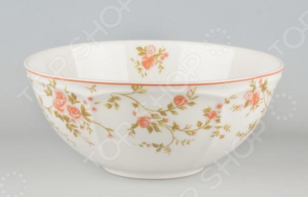 Салатник Quality Ceramic «Садовая Роза»