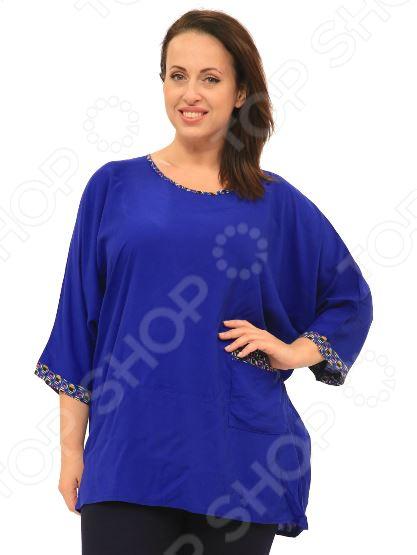 «Бузина». Цвет:синий Блуза Pretty Woman «Бузина». Цвет: синий