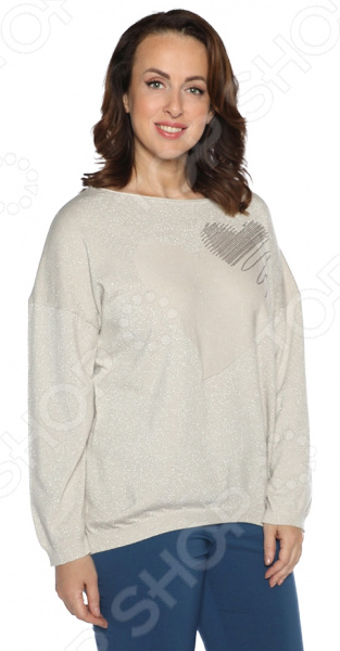 Джемпер Milana Style «Твоя вселенная». Цвет: бежевый платье milana style milana style mi038ewxjv28