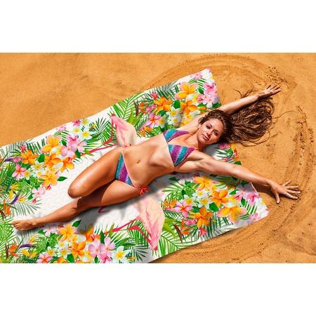 Купить Покрывало пляжное Сирень «Тропическое лето»