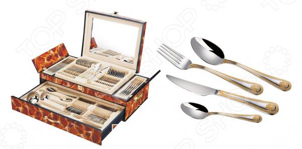 Набор столовых приборов Hans Muller «Герб» ложка для сахара kramet модерн