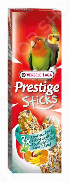 Лакомство для попугаев средних размеров Versele-Laga Prestige «Палочки с экзотическими фруктами» корм для птиц versele laga budgies для волнистых попугаев 1кг