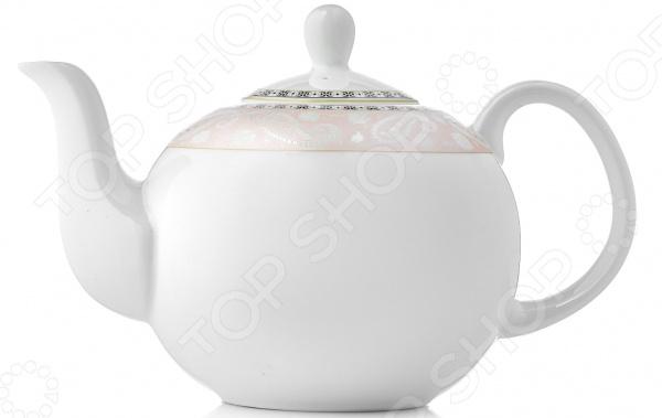 Чайник заварочный Esprado Arista Rose 13 сахарница esprado arista rose 350 мл
