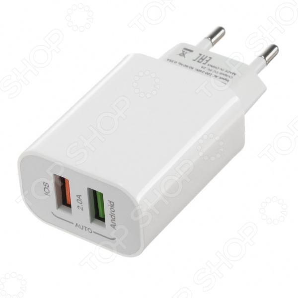 Фото - Устройство зарядное сетевое LuazON LN-110AC планшет