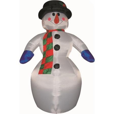 Купить Фигура 3D надувная Neon-Night «Снеговик»