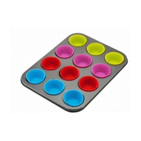 Купить Набор для выпечки кексов МО-2026. Количество форм: 12 шт