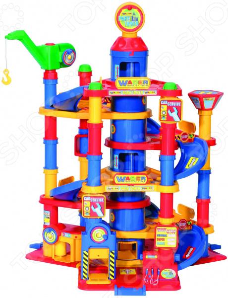 Набор игровой для мальчика Wader «Паркинг 7-уровневый с автомобилями»
