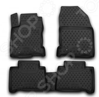 Комплект ковриков в салон автомобиля Novline-Autofamily Lexus IS 250 / IS F 2005-2013 - фото 8