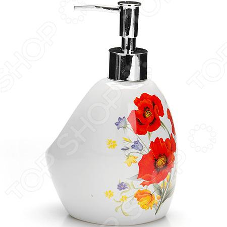 Диспенсер для мыла Loraine LR-26367 «Маки»