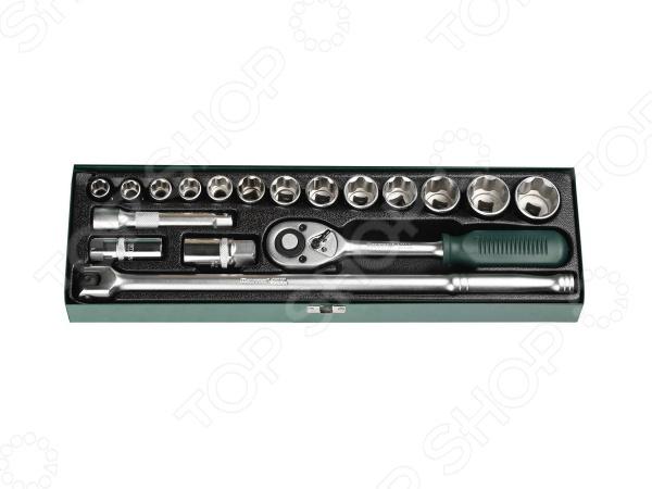 Набор торцевых головок Kraftool Industrie Qualitat 27892-H18 kraftool 26143 h18
