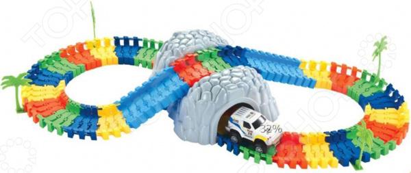 Конструктор - гоночный трек 1 Toy «Большое путешествие»
