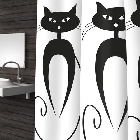 Купить Штора для ванной Bacchetta Cats
