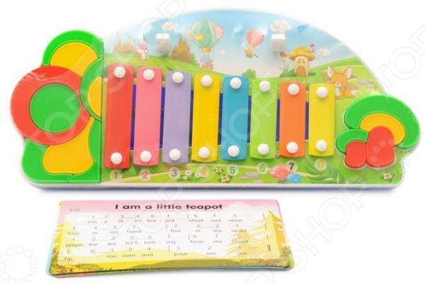 Ксилофон детский Наша Игрушка «Лето»