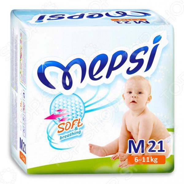 Подгузники Mepsi М (6-11 кг) Подгузники Mepsi М (6-11 кг) /21