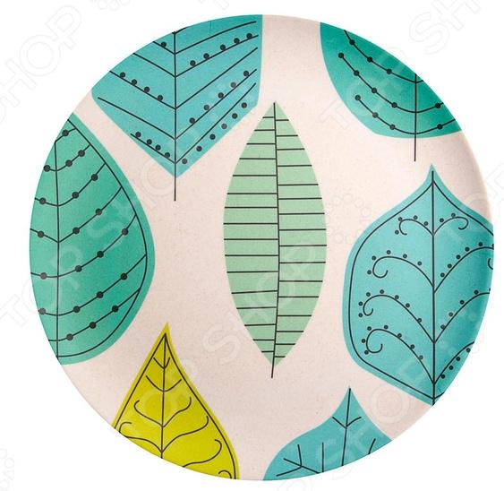 Тарелка десертная Ecowoo «Ливз»
